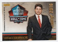 Eddie DeBartolo Panini Pro Football Hall of Fame Class of 2016 Card Ed Edward