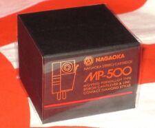 NAGAOKA MP-500 NEW MADE IN JAPAN MM CARTRIDGE+STYLUS+BORON CANTILEVER MP500