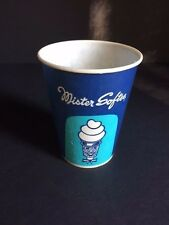 """1960's """"Mr. Softee"""", """"Un-Used"""" Paper Drink Cup, (6 oz)"""