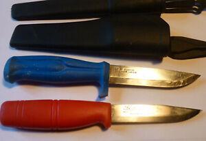 2 x KJ und Frosts Mora Schweden Allround Messer Jagdmesser Arbeitsmesser