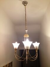 Gold And Silver Light Fitting In Art Deco Style. Pick Up Knutsford.