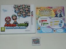 MARIO&LUIGI DREAM TEAM BROS  SUR NINTENDO 3DS