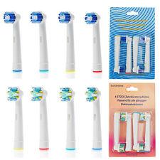 8 x Mix Aufsteckbürsten Ersatzbürsten für Oral B OralB Precision Clean Braun OVP