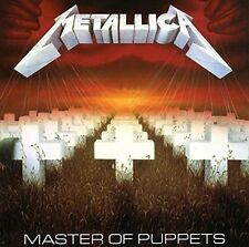Metallica Master Of Puppets 180gm vinyl REMASTERED LP 2017 New & Sealed