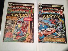 Capitaine America Et Le Faucon  # 46,54. Edition Heritage