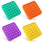 4x Push Pop Silicone Sensory Fidget Toy Office Anxiety Stress Relief Bubble Game
