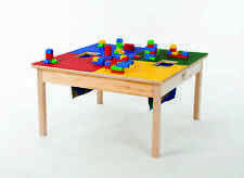 "LEGO® TABLE w/ HD Wood Frame 32""x 32""  w/ two Lego Storage Bags-MADE IN USA-NEW!"