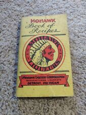 1930s Mohawk Liqueur Recipe Book