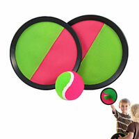 Scatch Velcro Throw & Catch Ball Game Set Beach Garden Play Fun Novelty Toy Gift