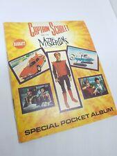 1967 Barratt sweet cigarettes Captain Scarlet Special Pocket Album rare unused