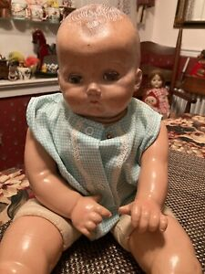 Vintage Early Composition Ideal Doll