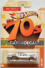 HOT WHEELS THE 70S CARS OF THE DECADES HOT BIRD #18/32 W+
