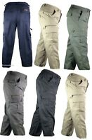 NEW Mens Mian Trousers Elasticated Cargo Combat Multi Pocket Long Pants Jeans