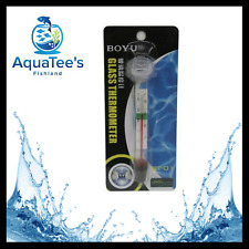 BOYU BT-01 Glass Aquarium Fish Tank Water Temperature Thermometer Suction Cup