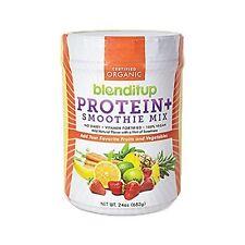 Unflavored Vegan Protein Powder Smoothie Mix 24 Oz by BlendItUp