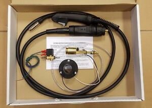 MIG WELDER EURO TORCH CONVERSION KIT INCLUDING MB15 3MTR TORCH & GAS SOLENOID e1