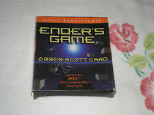 ENDERS GAME by ORSON SCOTT CARD  *AUDIO* +CD+ -FM-