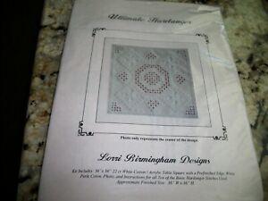 Ultimate Hardanger Lorri Birmingham Hardanger/Embroidery Kit #257K