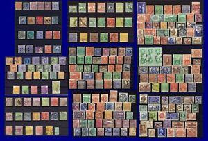 ***** 9 große Steckkarten Australia und Staaten, Victoria, NSW  usw.  *****