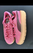 Puma Suede Womens Sneakers Size 8.5 Pink