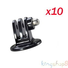 10pcs/Lot Tripod Mount Adapter Connector for GoPro Hero 1 2 3 3+ 4 & Sj4000 Cam