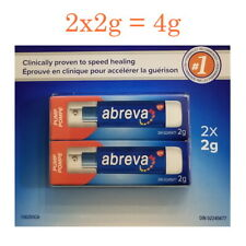 Abreva Pump Cold Sore Treatment Docosanol Cream 10% 2g