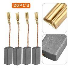 Sostituzione 23mm spazzole x 16 x 6mm carbonio bosch smerigliatrice angolare 180