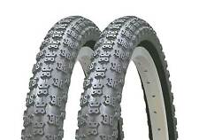 OLD SCHOOL BMX ALL BLACK COMP 3 ALL BLACK TYRES 20 X 1.75 SOLD IN PAIRS