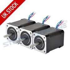 3pcs High Torque 65ncm NEMA 17 Stepper Motor 2.1a 4 Wires 3d Printer Extruder