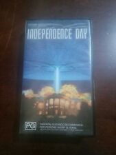"1996 FILM ""INDEPENDENCE DAY"" PAL VHS MOVIE VIDEOTAPE WILL SMITH,JEFF GOLDBLUM"