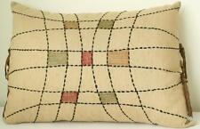 Decorated Rectangular Filled Cushion 30 x 42 cm Embroideries Ribbons