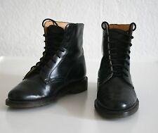 Dr. Martens County 8 Eye Vintage Stiefel Stiefeletten Gr. 37 UK 4,5 schwarz TOP