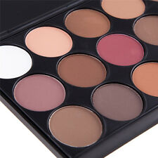 Hot Pro 15 Colors Warm Nude Matte Shimmer Eyeshadow Palette Makeup Cosmetic New