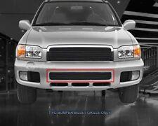 Black Lower Bumper Billet Grille Insert For Nissan Pathfinder 1999-2004
