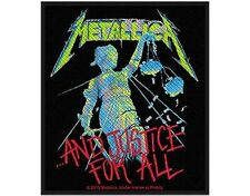 METALLICA ..and justice for all - 2013 - WOVEN SEW ON PATCH official merchandise