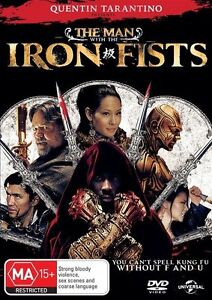 The Man With The Iron Fists DVD - Russell Crowe - Chung Li - New & Sealed