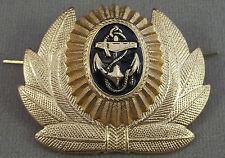 Russian / Soviet Navy Warrant Officer Uniform Hat / Cap Badge / Cockade