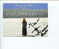 Marianne Kesler Famous Singer Signed Autograph Photo