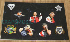 BIGBANG ALIVE GALAXY TOUR THE FINAL GOODS STICKER SET NEW
