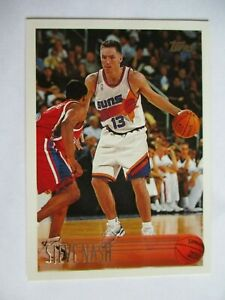 96/97 1996-97 Topps Steve Nash #182 RC Rookie Suns Mavericks Nets