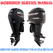 MERCURY MARINE OPTIMAX 75 90 115 125 PRO XS 115 WORKSHOP MANUAL (DIGITAL e-COPY)