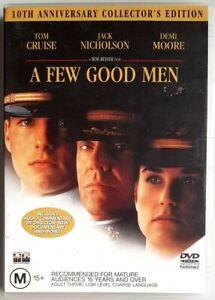 A Few Good Men (DVD, 2001) Tom Cruise & Jack Nicholson (Australian Region 4 PAL)