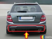 NEW GENUINE MERCEDES W204 C CLASS ESTATE 11-14 AMG PACKAGE REAR BUMPER DIFFUSER