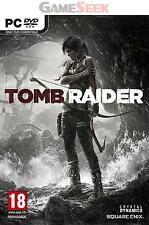 TOMB RAIDER (NEW 2013 VERSION) - PC BRAND NEW FREE DELIVERY