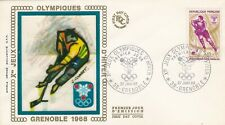France 1968 1544 FDC Grenoble Jeux Olympiques Hockey sur glace