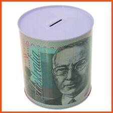 48 x MEDIUM AUSTRALIAN DOLLAR NOTE MONEY TIN BOX Piggy Bank Coin Boxes Savings