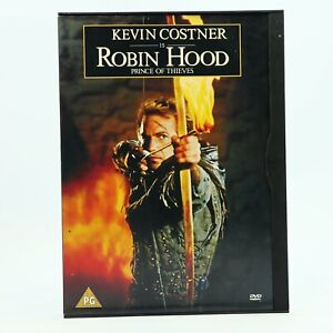 ROBIN HOOD PRINCE OF THIEVES DVD Kevin Costner Snap Case GC R2