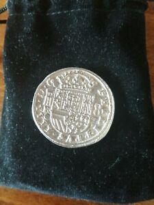 Fine 999 Silver Pirate Coin Treasure Facsimile Piece Of Eight Bullion Cornwall