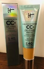 it Cosmetics Your Skin Better CC+ Oil-Free SPF40 Cream 1.08oz PICK YOUR SHADE