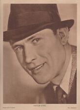 Bildbeilage Filmheft - Poster - Victor Staal - ca 22,3 cm x 30 cm